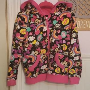 Disney Minnie Mouse Funky Hoodie Sweatshirt 4
